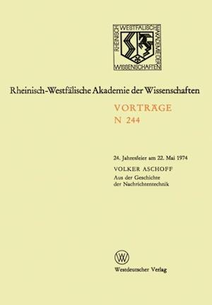 Aus der Geschichte der Nachrichtentechnik af Volker Aschoff