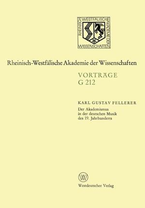 Der Akademismus in der deutschen Musik des 19. Jahrhunderts