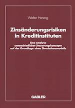Zinsanderungsrisiken in Kreditinstituten af Walter Herzog