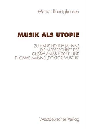 Musik als Utopie