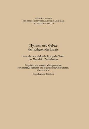 Hymnen und Gebete der Religion des Lichts