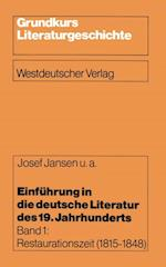 Einfuhrung in die deutsche Literatur des 19. Jahrhunderts af Josef Jansen
