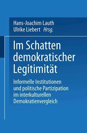 Im Schatten demokratischer Legitimitat