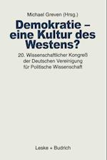 Demokratie - eine Kultur des Westens?