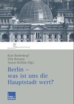 Berlin - was ist uns die Hauptstadt wert?