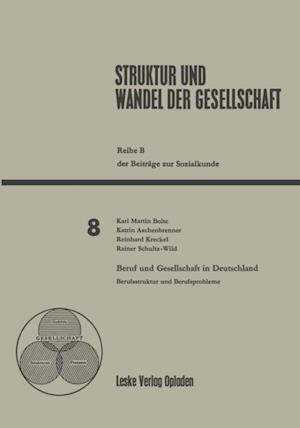 Beruf und Gesellschaft in Deutschland