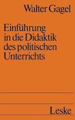 Einführung in Die Didaktik Des Politischen Unterrichts