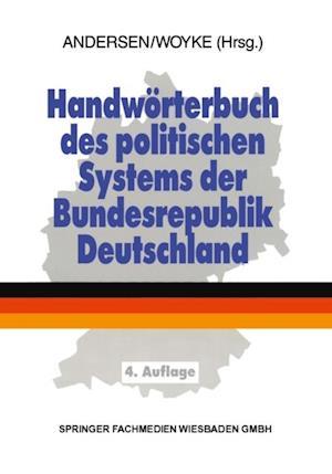 Handworterbuch des politischen Systems der Bundesrepublik Deutschland