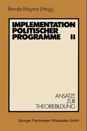 Implementation politischer Programme II