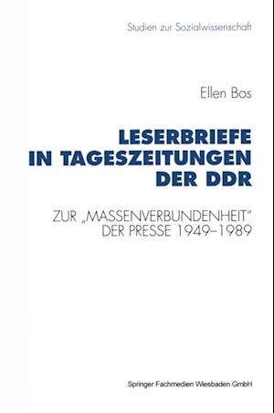 Leserbriefe in Tageszeitungen der DDR