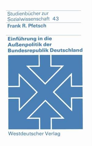 Einfuhrung in die Auenpolitik der Bundesrepublik Deutschland