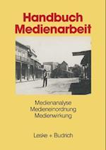 Handbuch Medienarbeit af Ulrich Allwardt