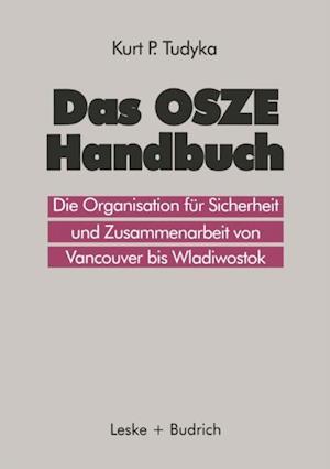 Das OSZE-Handbuch af Kurt P. Tudyka