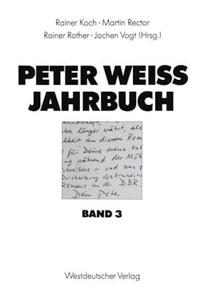Peter Weiss Jahrbuch 3