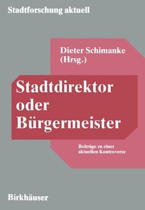 Stadtdirektor oder Burgermeister