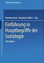 Einfuhrung in Hauptbegriffe Der Soziologie af Hermann Korte