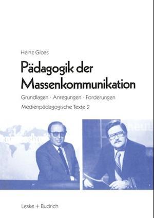 Padagogik der Massenkommunikation