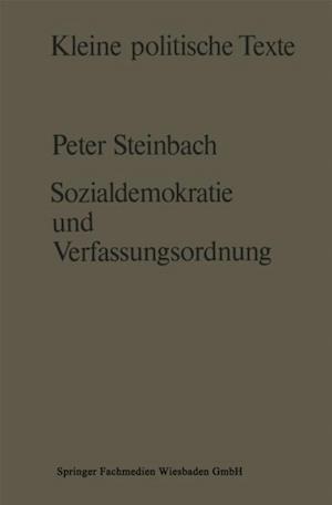 Sozialdemokratie und Verfassungsverstandnis af Peter Steinbach