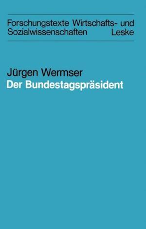 Der Bundestagsprasident af Jurgen Wermser
