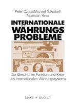 Internationale Wahrungsprobleme af Peter Czada, Michael Tolksdorf, Alparslan Yenal