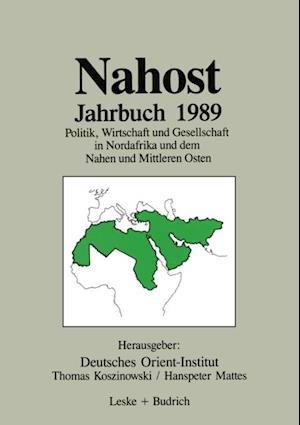 Nahost Jahrbuch 1989 af Hanspeter Mattes, Thomas Koszinowski