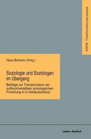 Soziologie und Soziologen im Ubergang