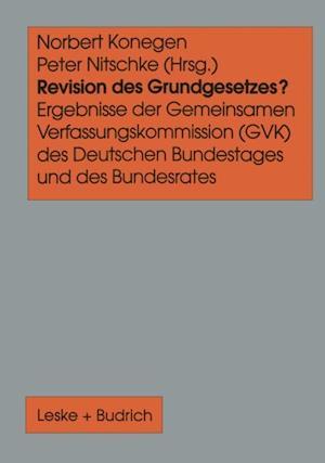 Revision des Grundgesetzes?