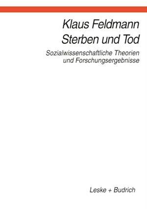 Sterben und Tod af Klaus Feldmann