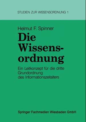 Die Wissensordnung af Helmut Spinner