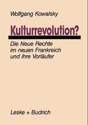 Kulturrevolution? af Wolfgang Kowalsky