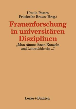 Frauenforschung in universitaren Disziplinen