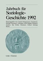 Jahrbuch Für Soziologiegeschichte 1992