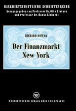 Der Finanzmarkt New York af Richard Nowak