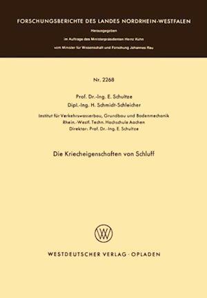 Die Kriecheigenschaften von Schluff af Edgar Schultze