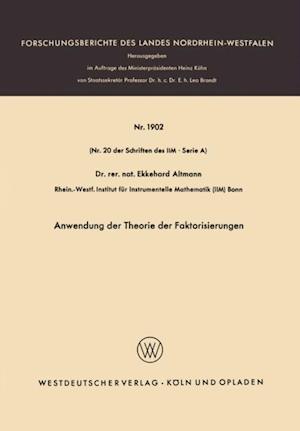 Anwendung der Theorie der Faktorisierungen af Ekkehard Altmann