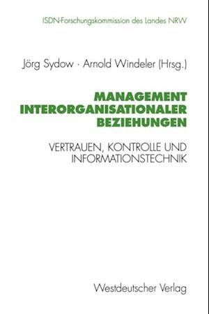 Management interorganisationaler Beziehungen
