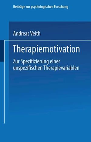 Therapiemotivation af Andreas Veith