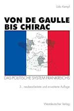 Von de Gaulle bis Chirac af Udo Kempf