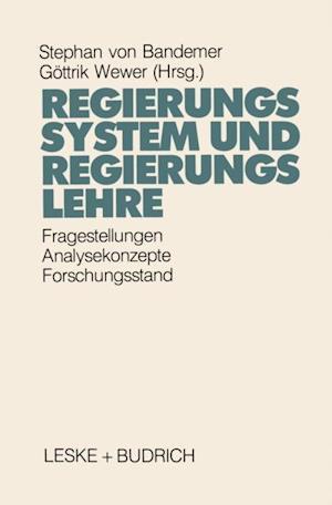 Regierungssystem und Regierungslehre