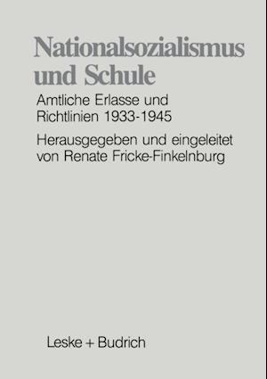 Nationalsozialismus und Schule