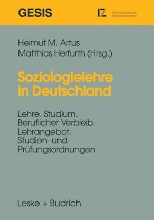 Soziologielehre in Deutschland