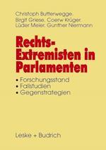 Rechtsextremisten in Parlamenten af Birgit Griese