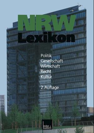 NRW-Lexikon af Johannes Varwick, Andreas Kost, Barbara Budrich