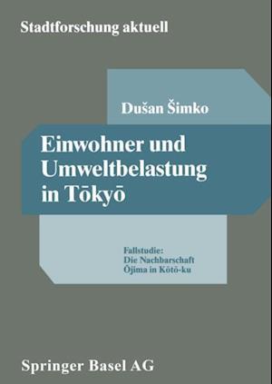 Einwohner und Umweltbelastung in Tokyo af Dusan Simko