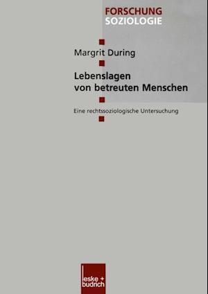 Lebenslagen von betreuten Menschen af Margrit During