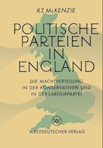 Politische Parteien in England af Robert Trelford McKenzie, Robert Trelford McKenzie