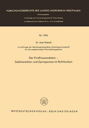 Der Finefrausandstein -- Sedimentation Und Epirogenese Im Ruhrkarbon