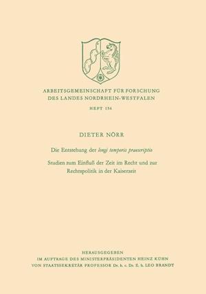 Die Entstehung Der Longi Temporis Praescriptio
