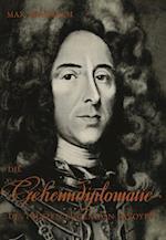 Die Geheimdiplomatie Des Prinzen Eugen Von Savoyen