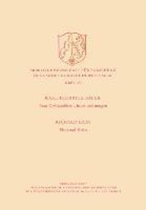 Bog, paperback Vom Krebsproblem -- Heute Und Morgen. Virus Und Krebs af Richard Haas
